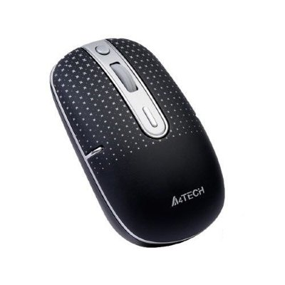 G9-557HX A4Tech Holess Wireless Mouse Беспроводная минимышка, 5 кнопок, 1хААА батарея, Оптический сенсор Holeless